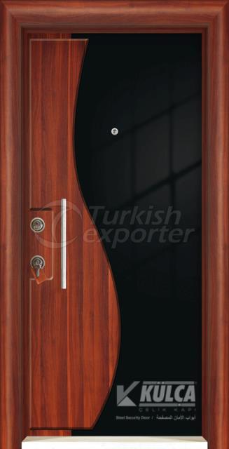 D-2001 ( PVC STEEL DOOR )