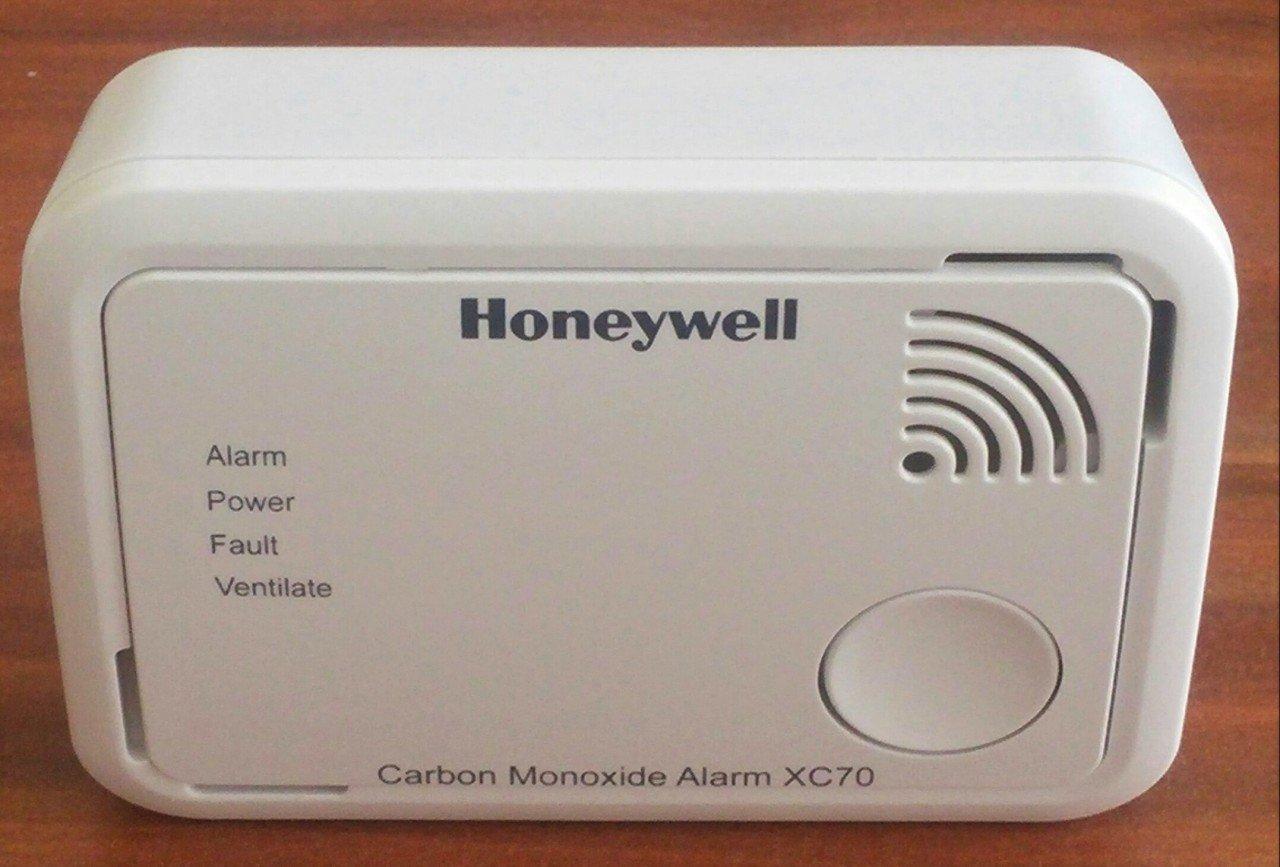 HONEYWELL X C70 Carbon Monoxide Alarm