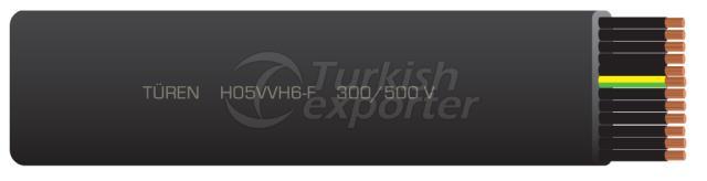 Кабели для подъема и подъема H05VVH6-F