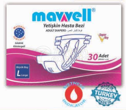MAWELL ADULT DIAPER LARGE