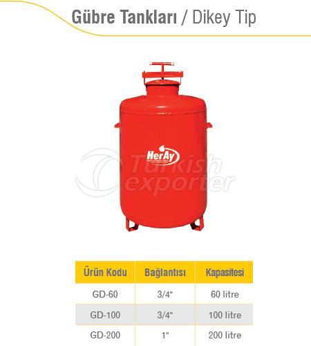 Fertilizer Tanks Vertical Type