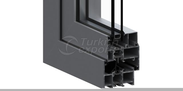 SI-58 Insulated Door and Window System