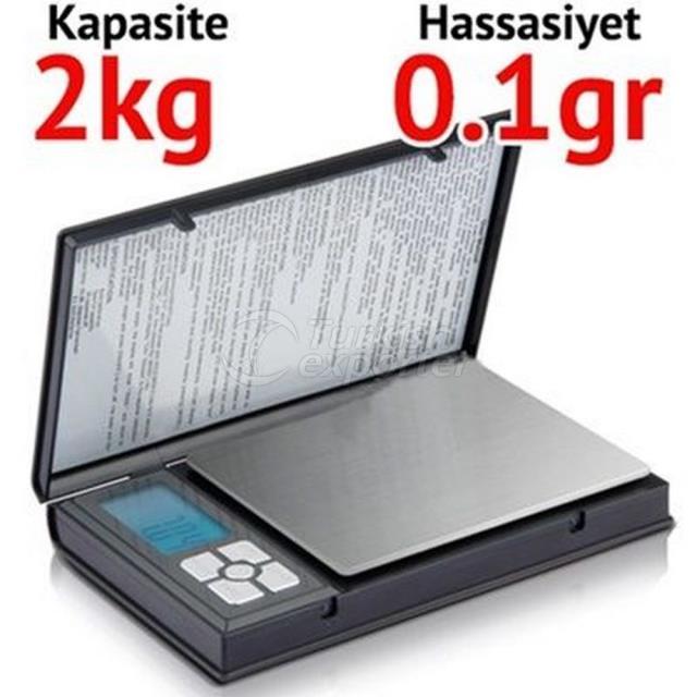 Notebook Pocket Scale