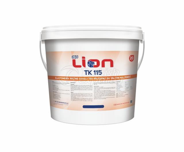 Isolion Tk 115 Elastomeric Resin Based Waterproofing Material