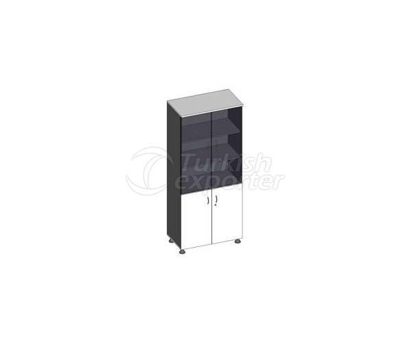 Cabinet E.187SC 80x44x187h