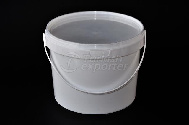 2500 ml Plastic Round Bucket