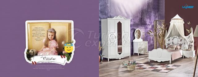 Nilufer Chilren Room Set