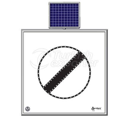 Solar Road Maintenance Led Sign  11749 S-LD