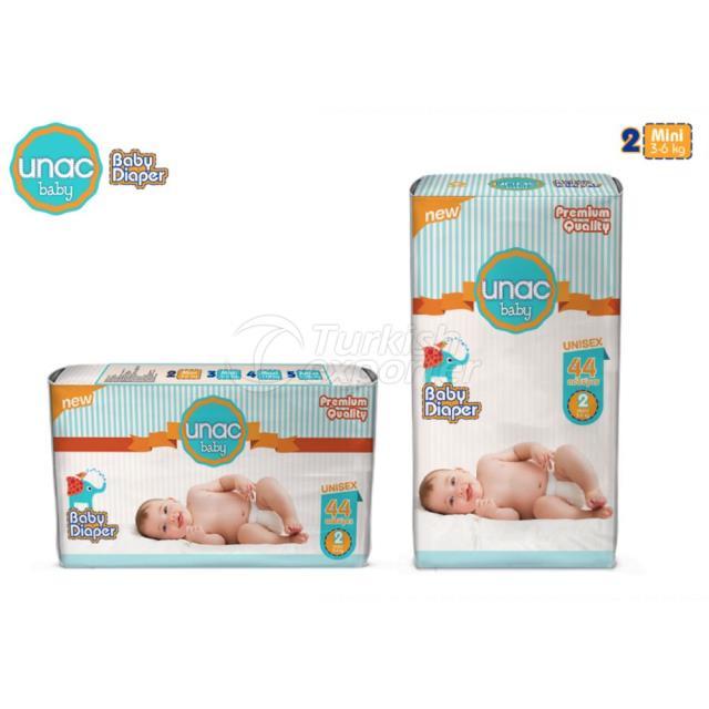 Un0002 - Unacbaby Diapers Mini