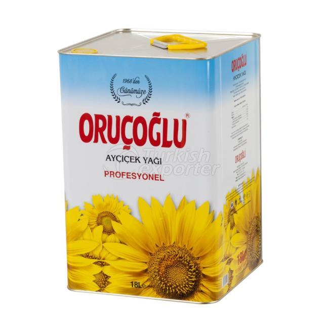 Sunflower Oil 18lt
