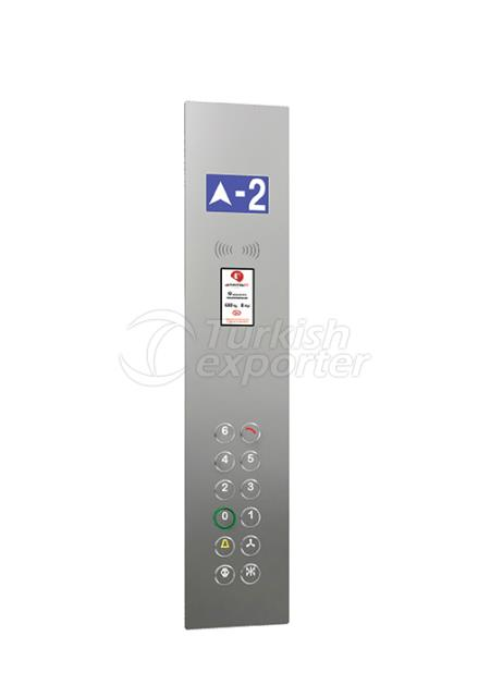 Botón de cabina IAC 001L