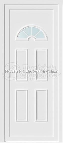 Paneles de puerta de PVC Thermoform 30001_C1_K1