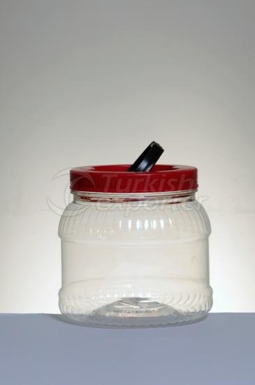Plastic Jars 1300 cc