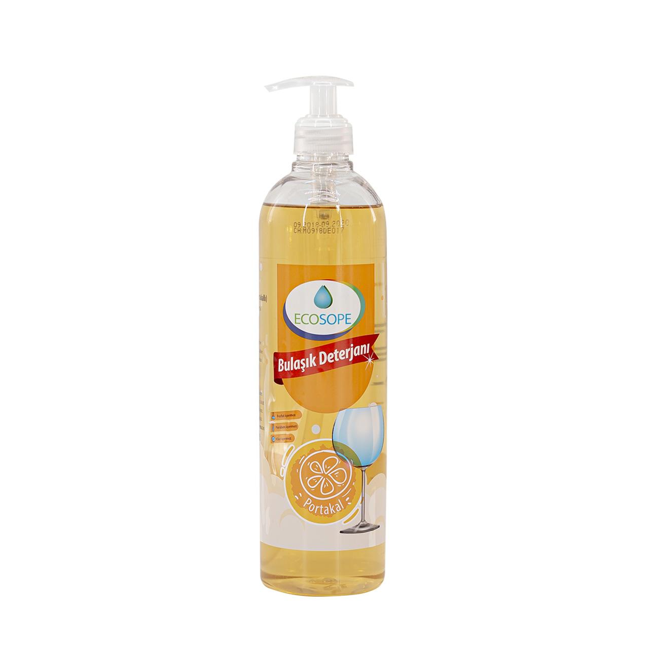 Ecosope Liquid handwashing detergent orange