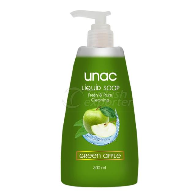 Un5023 - Unac Liquid Soap Green Apple