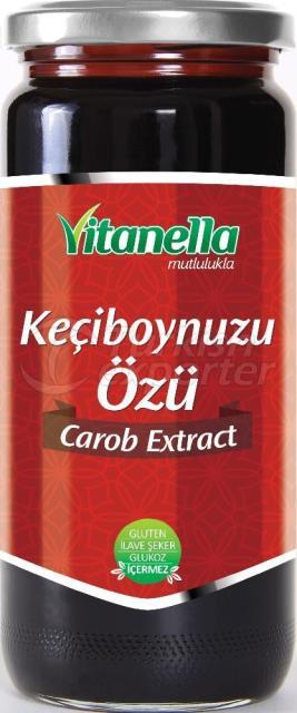 Extrait de caroube de Vitanella