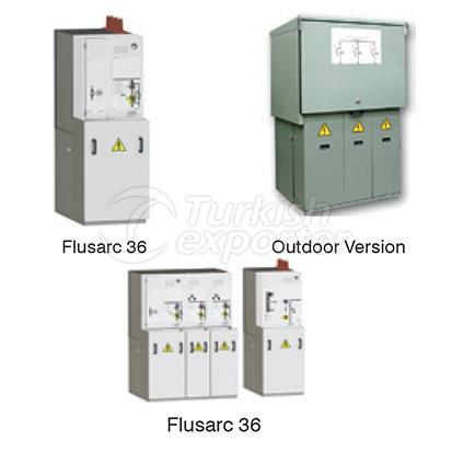 Anillo de la unidad principal Flusarc 36