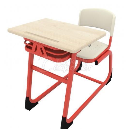 Combo Single School Desk
