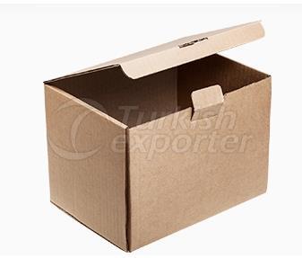 Закрытая стеклянная коробка Premium