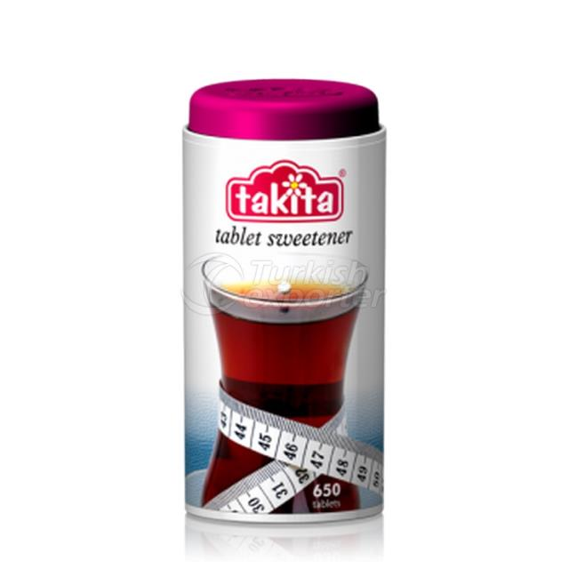 Takita Tablet Sweetener with Saccharine 650 Tablets