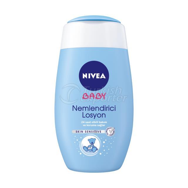 Nivea Crema hidratante loción bebé 200ml.
