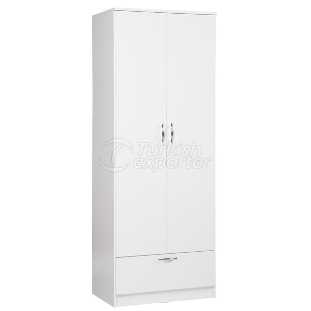2 дверной шкаф с выдвижным ящиком