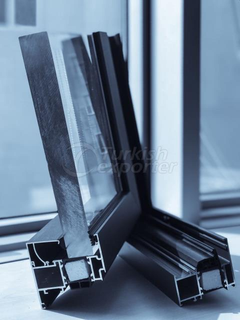 HIGH INSULATED DOOR AND WINDOW