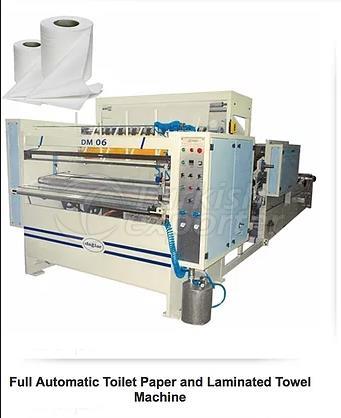 Papel higiênico - Máquina de toalha de papel