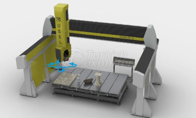 CNC 3D MERMER İŞLEME MAKİNASI