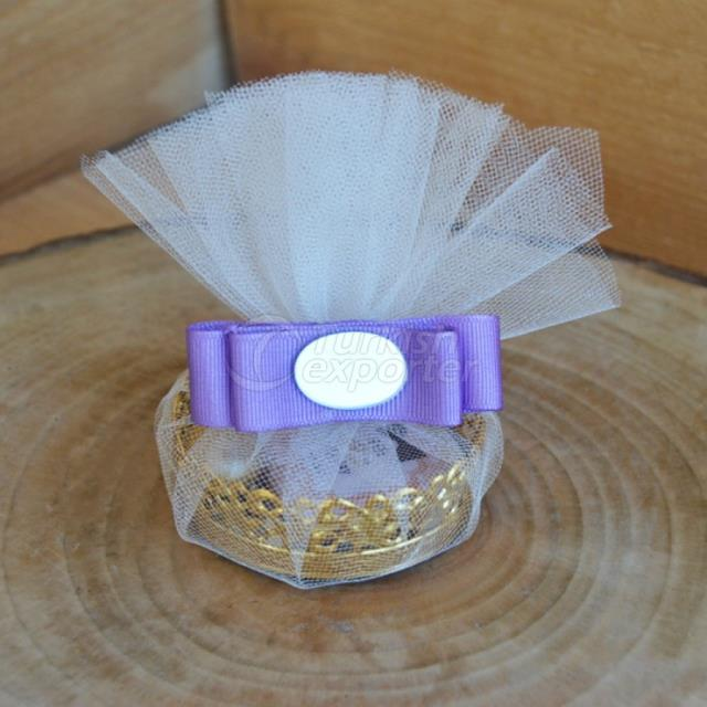 Gold Tray Marriage Chocolate-Dragee