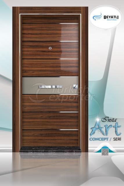 Steel Door - Insta 302