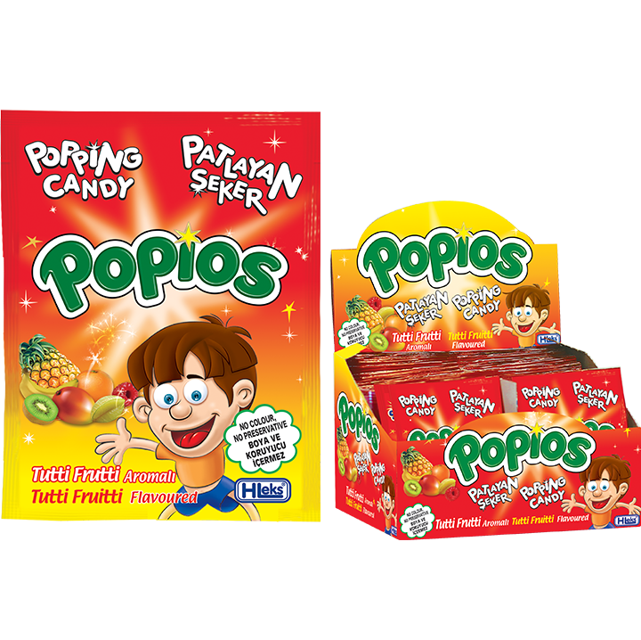POPIOS POPPING CANDY