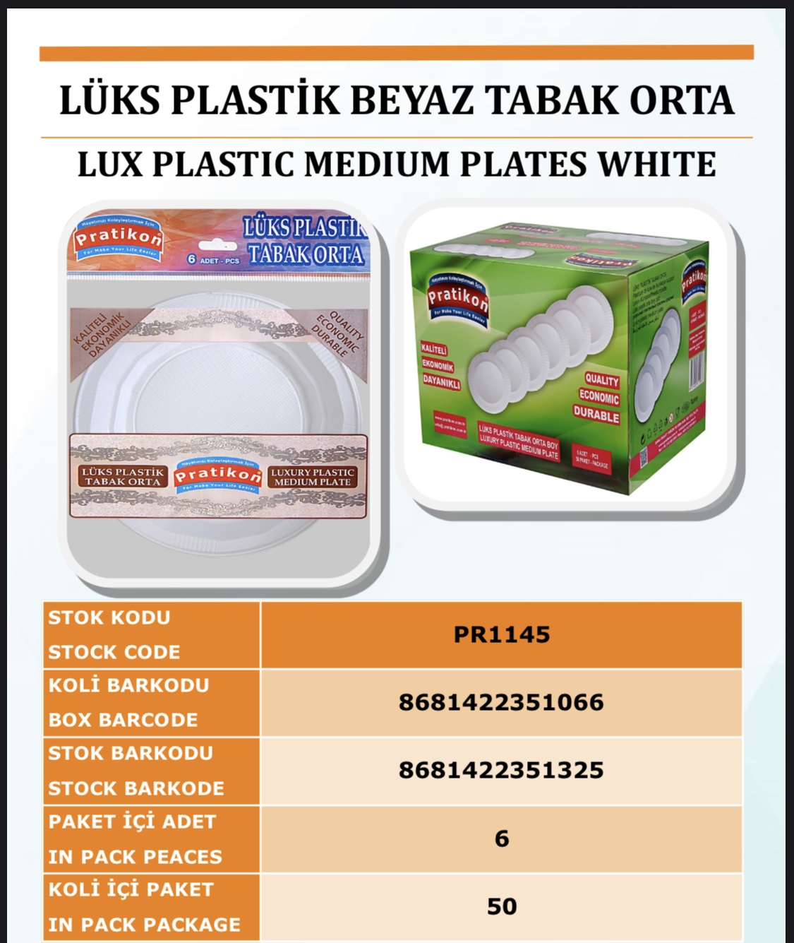 luxury plastic plates medium white