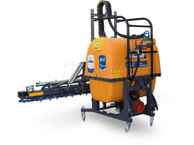 Máquina de pulverizadores LKS-TP-800-15M-2L