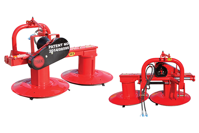 Hydraulic Sliding Type Mower - MKA 165