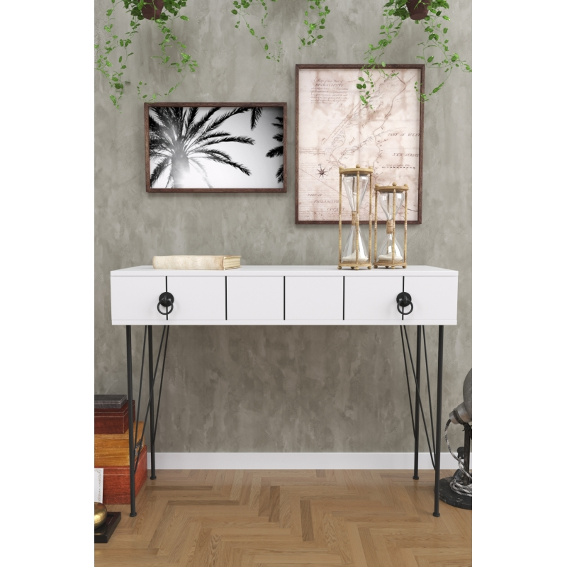 Asia Console Table With Drawers