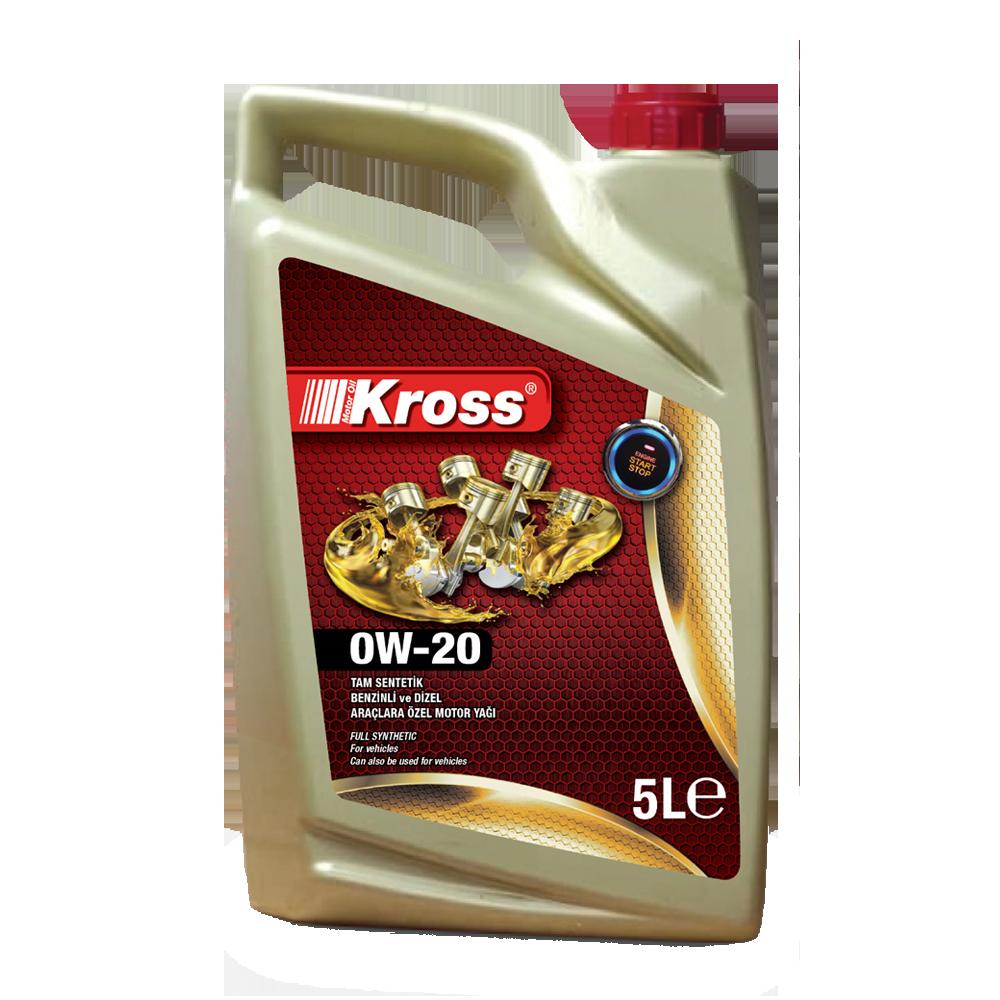 OW20 KROSS MOTOR OIL 5LT