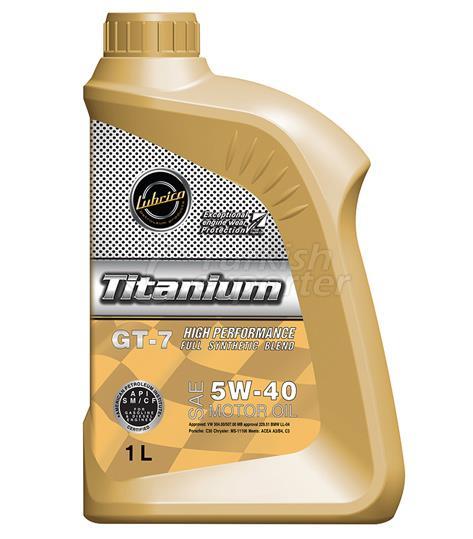 Lubrico Titanyum GT-7 5W/40