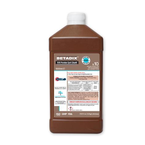 Povidion Iyodine %10 - BETADIX