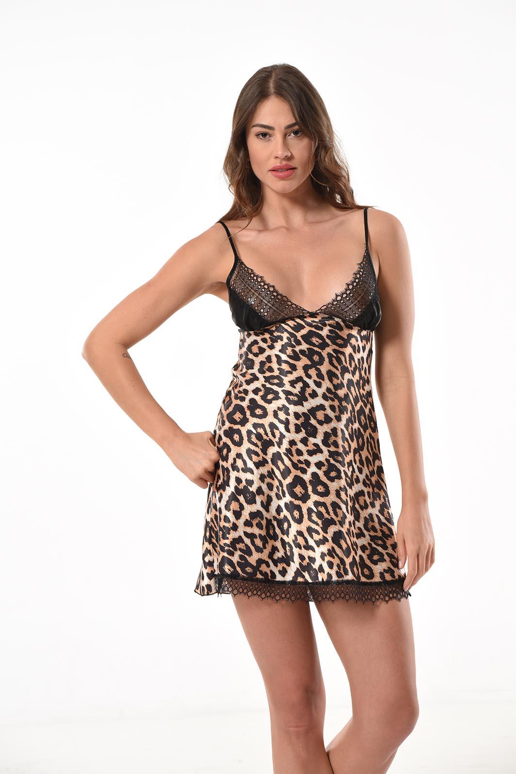 Vestido de noche de raso (Modelo 1164)