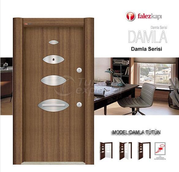 Steel Door Damla Tutun