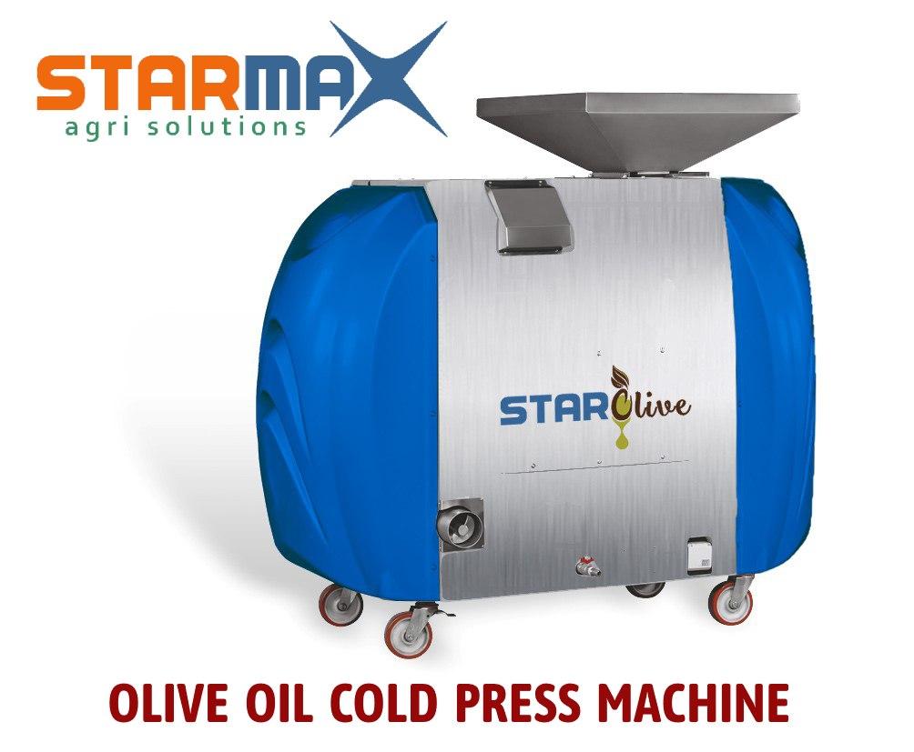 Machine à huile d'olive Star Press Cold Press