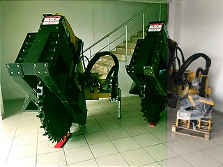 ROCK SAW TRENCHER-COLD PLANER-WHELL SAW