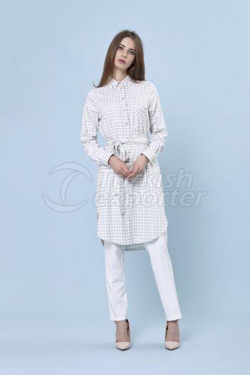 Camisa Checkered 2219 Verde