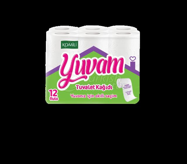 Papel higiénico Yuvam 12 rollos
