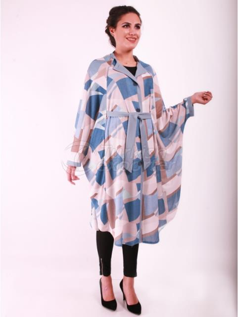 Pregnant Air Conditioner Fabric Broken Glass Poncho