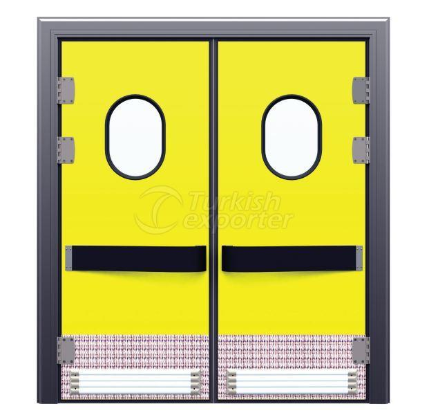 Cold Storage Doors Flip Flap