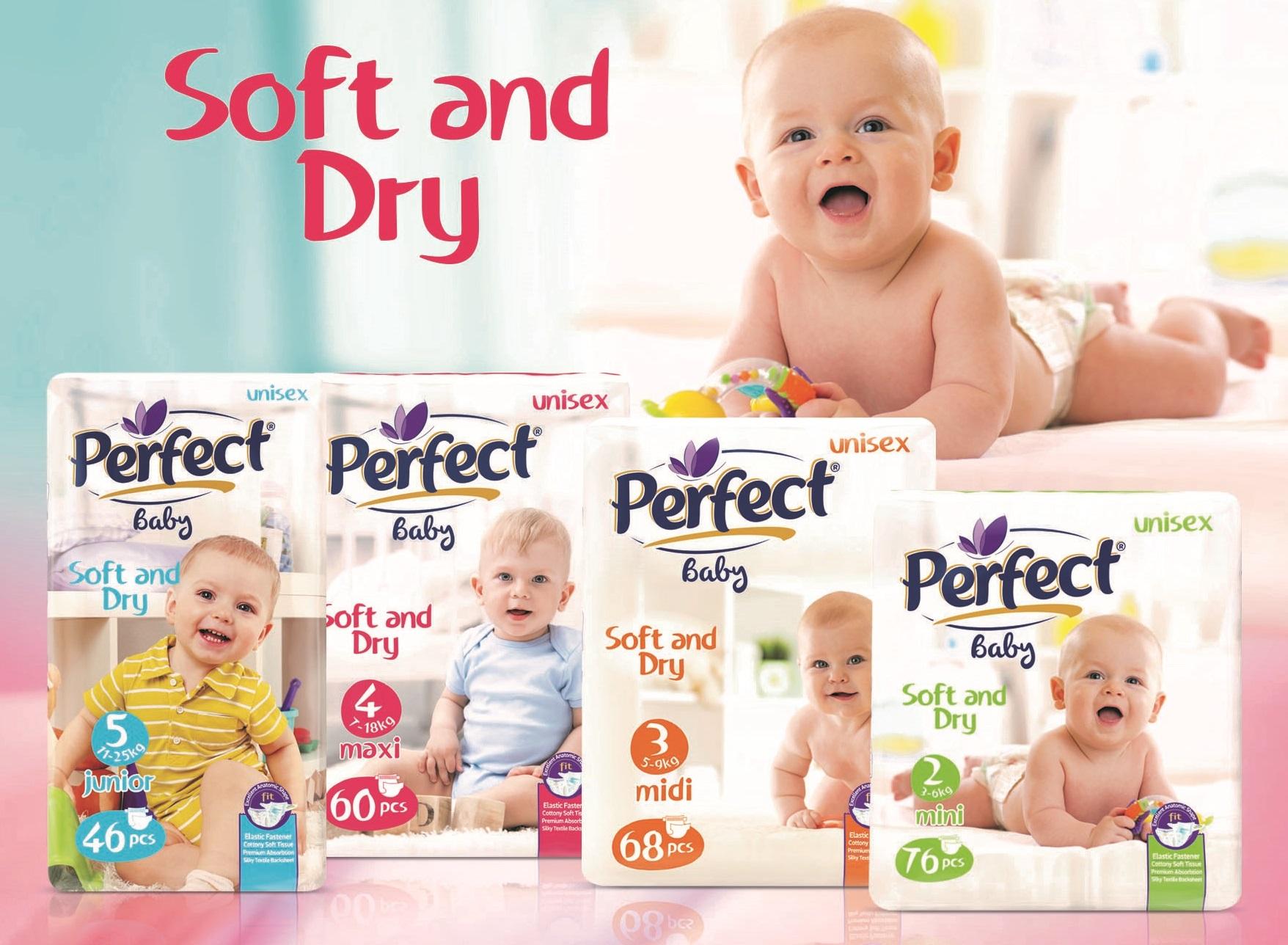 Perfect Baby Jumbo-Pack Baby Diaper