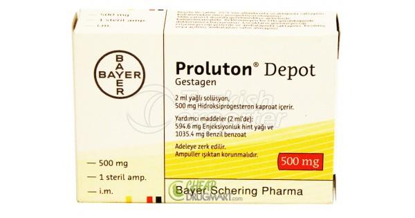 PROLUTON 500 MG -1- AMPOUL