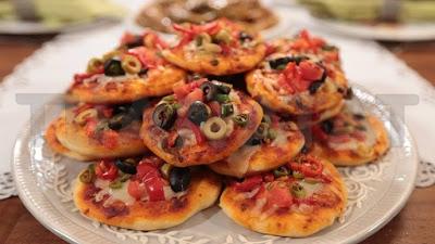 Breakfast Pleasure - Mini Mixed Pizza
